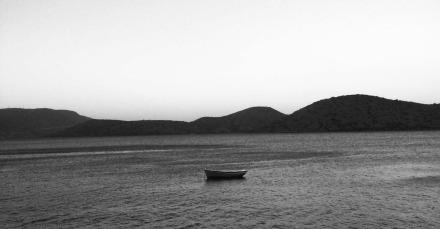 Boat in the sea web
