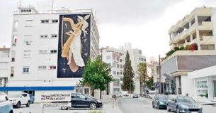 Six bare walls in the centre of Nicosia have undergone a complete transformation over the past two weeks, as part of an initiative instigated by the Research, Studies and Publications Services (RSPS) of the Cyprus House of Representatives.