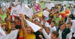 A photograph by Melissa Hekkers of an anti-bullying event at a Nicosia school is one of three winners of a photo competition organised by the Cyprus Community Media Centre (CCMC) with the support of the European Commission Representation in Cyprus